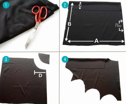 costume de batman. Black Bedroom Furniture Sets. Home Design Ideas