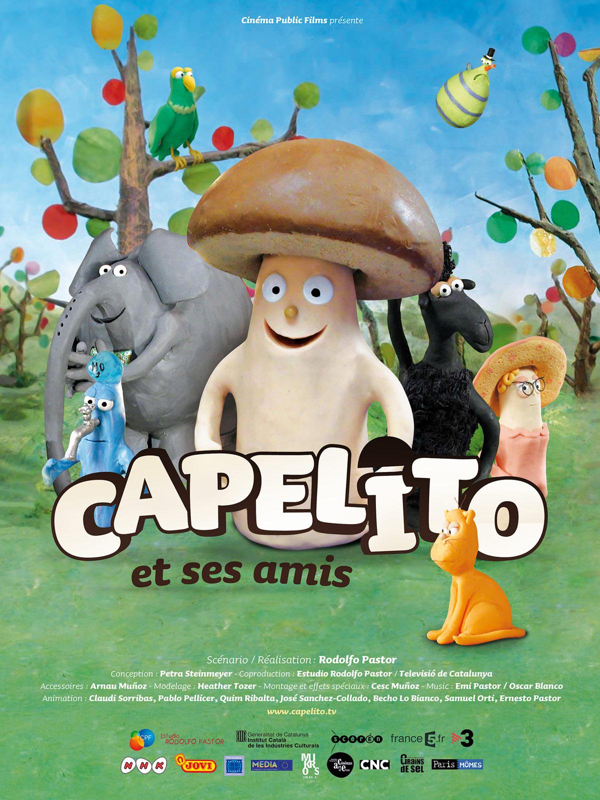 Affiche Capelito et ses amis