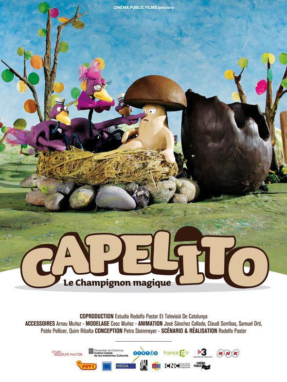 Affiche Capelito le champignon magique