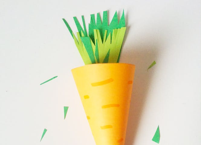 carotte en carton bricolage