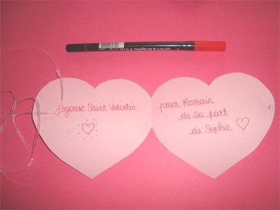 Carte en forme de coeur - Coeur de st valentin a imprimer ...