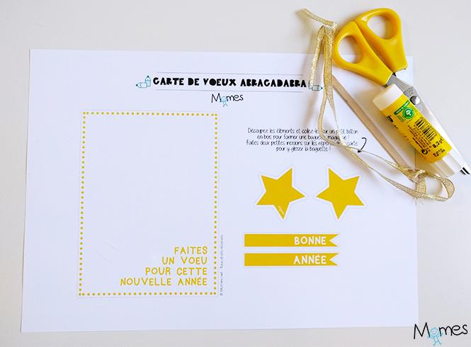 Carte de voeux magique - Motif carte de voeux ...