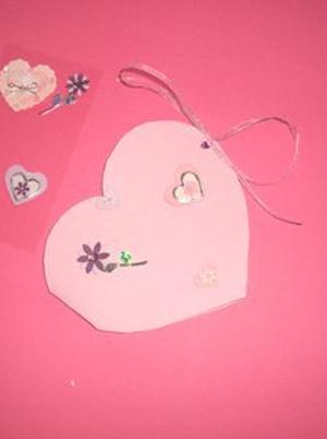 Carte en forme de coeur