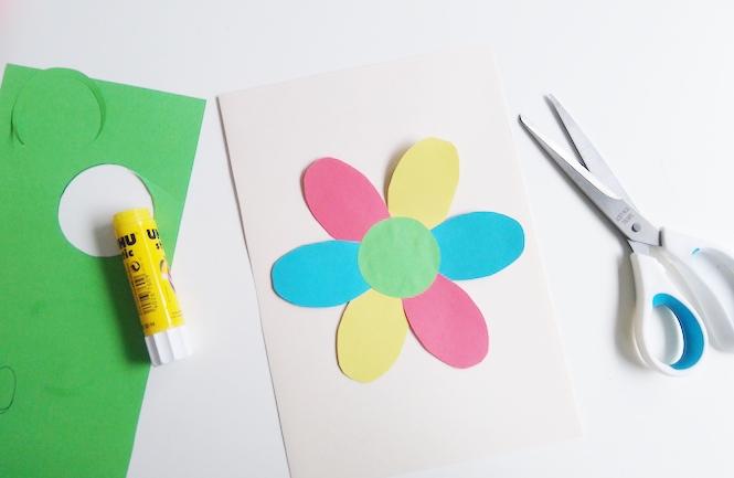 carte fleur surprise