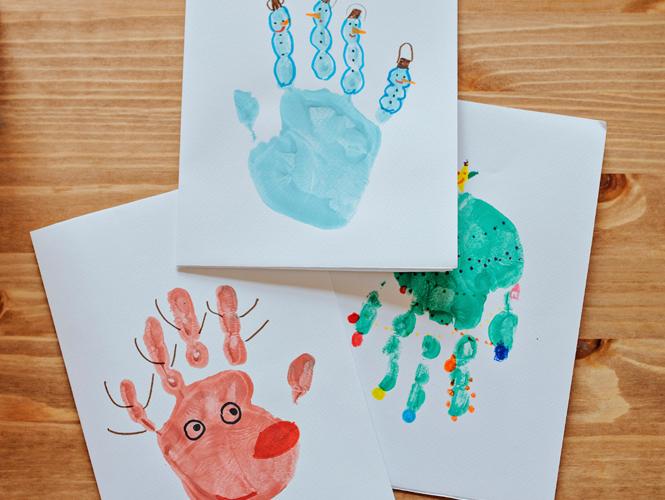 cartes de no235l empreintes de mains momesnet