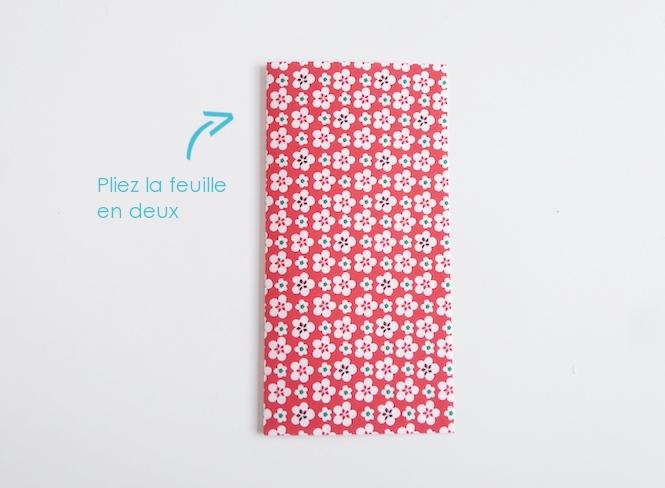 carte robe origami