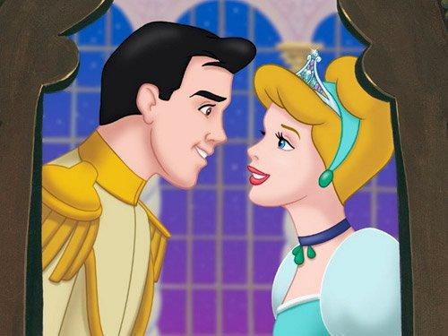 Cendrillon et le prince cendrillon - Blanche neige et son prince ...