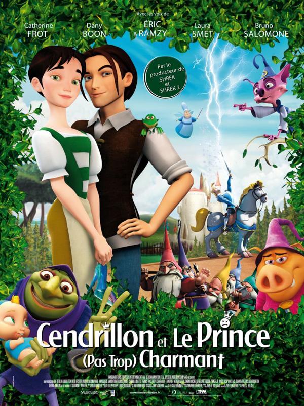 Affiche Cendrillon et le prince (pas trop) charmant