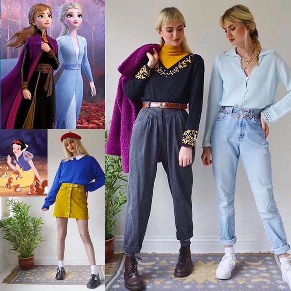 tenues sœurs inspirées de personnages célèbres instagram