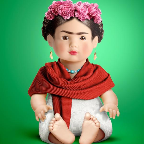 Cet artiste imagine des personnes célèbres en poupées