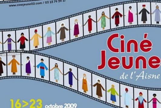 Affiche Ciné Jeune de l'Aisne 2009