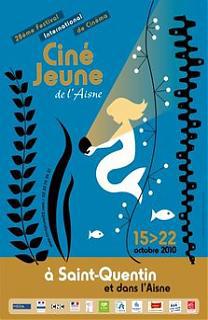 Affiche Ciné Jeune de l'Aisne 2010