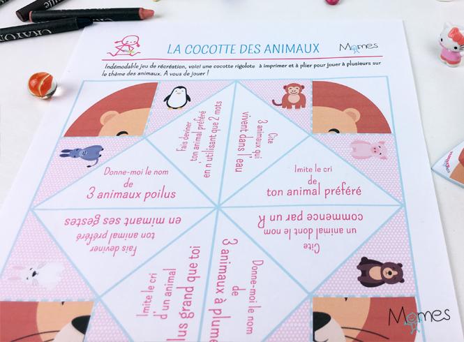La Cocotte Des Animaux Momesnet