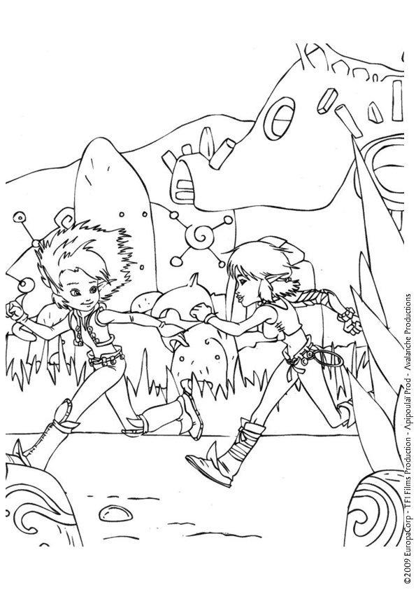 Coloriage Arthur (4)