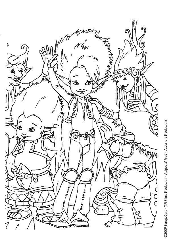 Coloriage Arthur (7)
