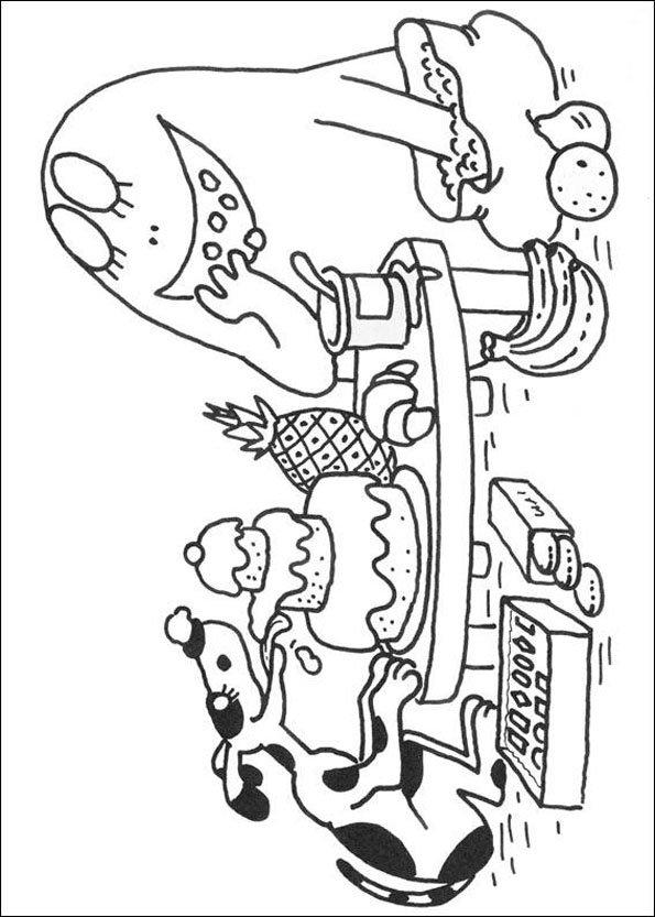 Coloriage barbapapa 8 - Barbapapa a imprimer ...