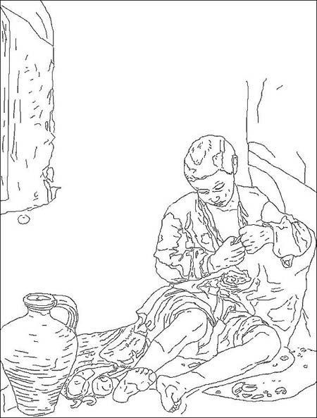 Coloriage Bartolomé Murillo