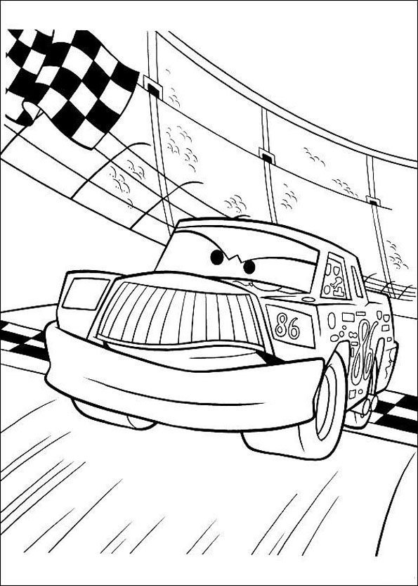Coloriage cars 11 - Coloriage la cars ...