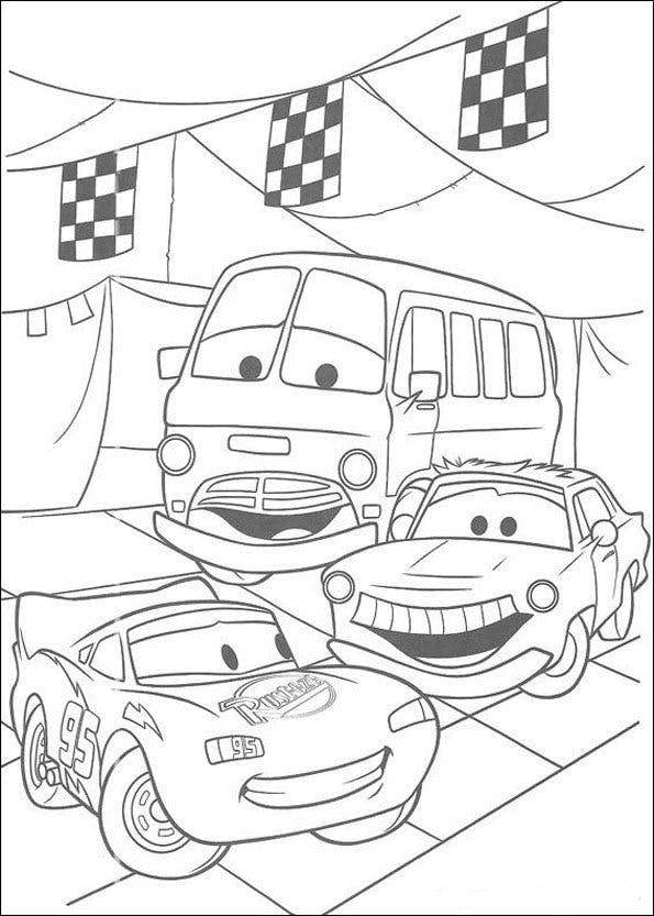 Coloriage cars 3 - Coloriage cars a imprimer a4 ...