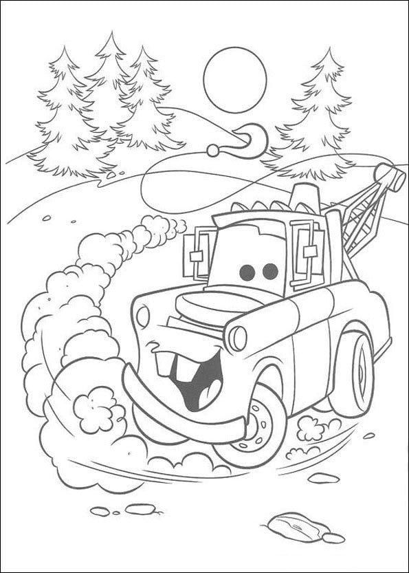 Coloriage cars 6 - Coloriages de cars ...