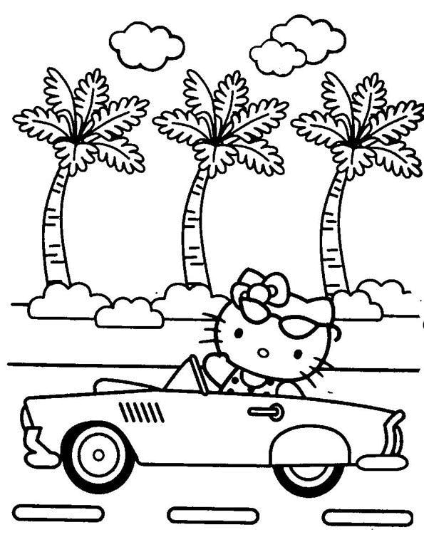 Coloriage Hello Kitty - 1