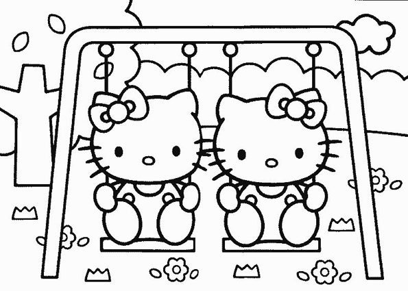 Coloriage Hello Kitty - 11