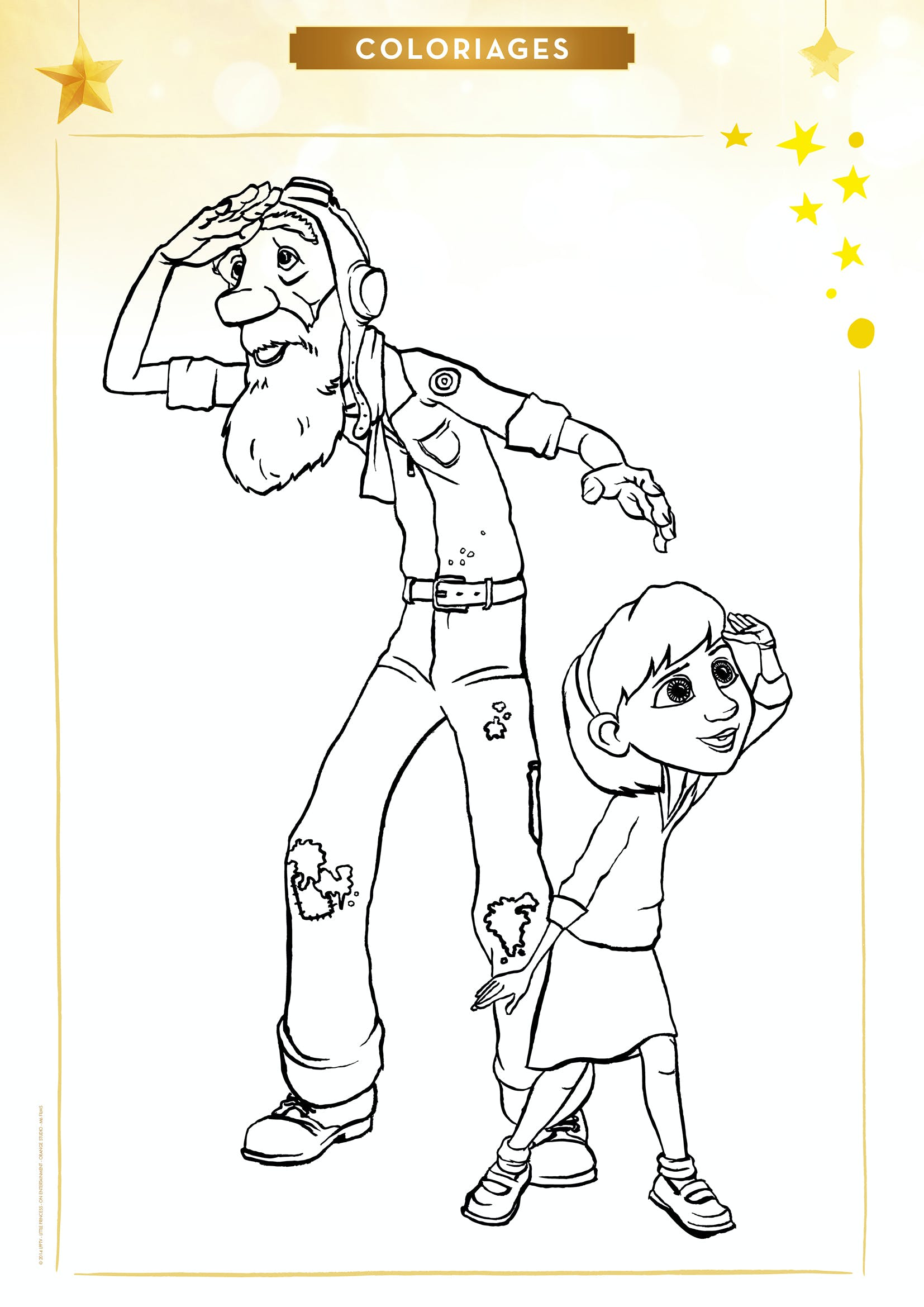 Coloriage Petit Dessin Anime.Coloriages Le Petit Prince Coloriages De Heros Et Dessins Animes