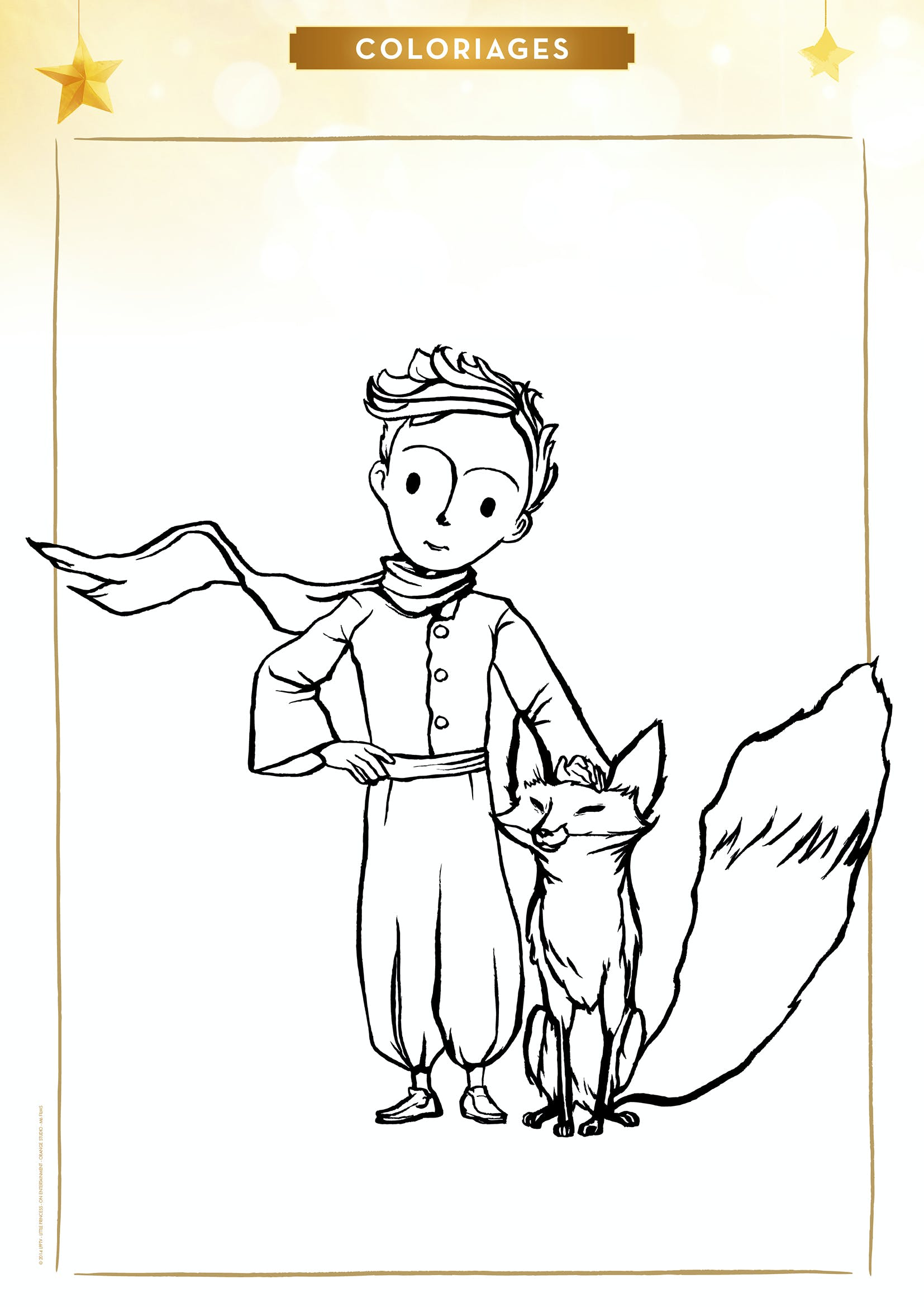 Meilleur de image renard a imprimer gratuit - Coloriage petit renard ...