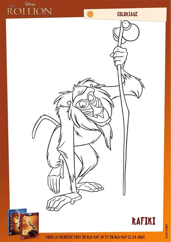 Coloriage Le Roi Lion (4)