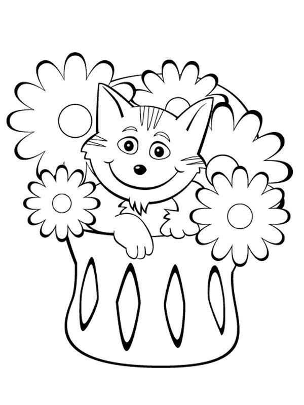 Coloriage les chats (2)