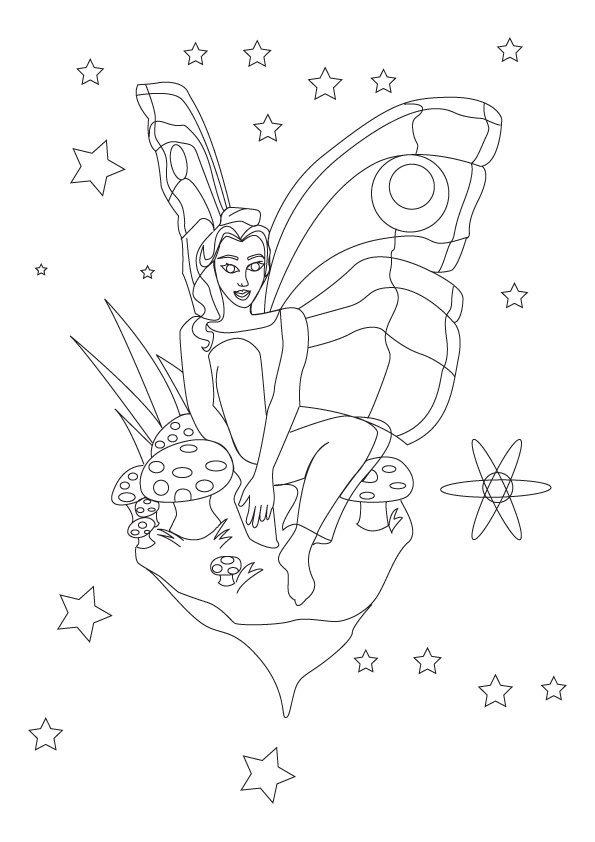 Coloriage les fées (2)