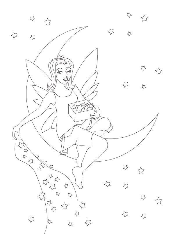 Coloriage les fées (4)
