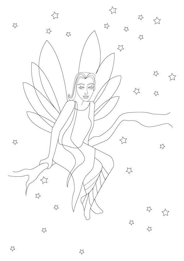 Coloriage les fées (5)