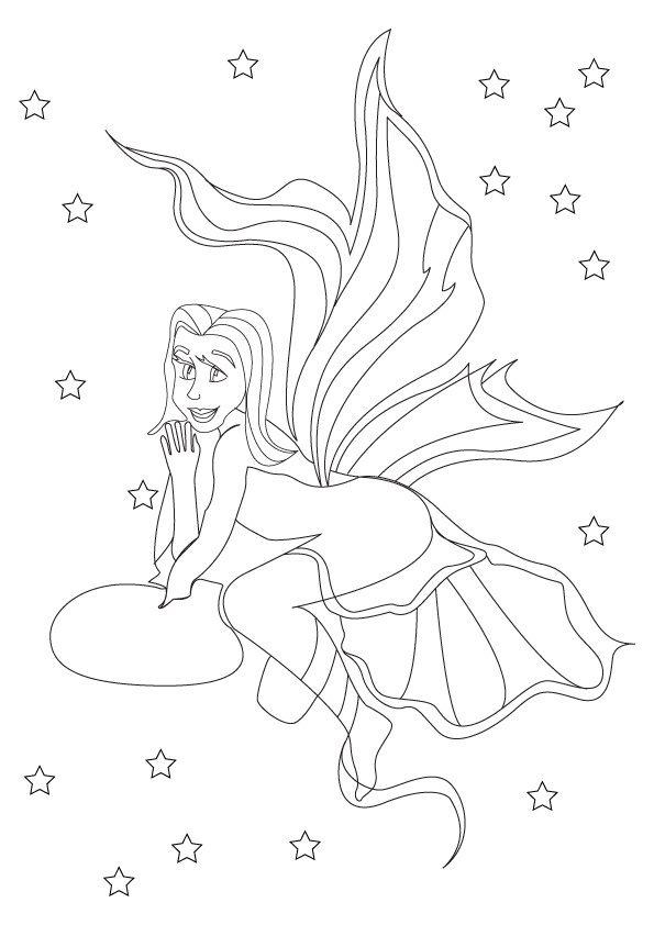 Coloriage les fées (6)