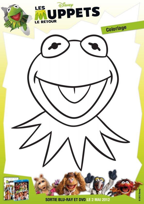 Coloriage Les Muppets - 1