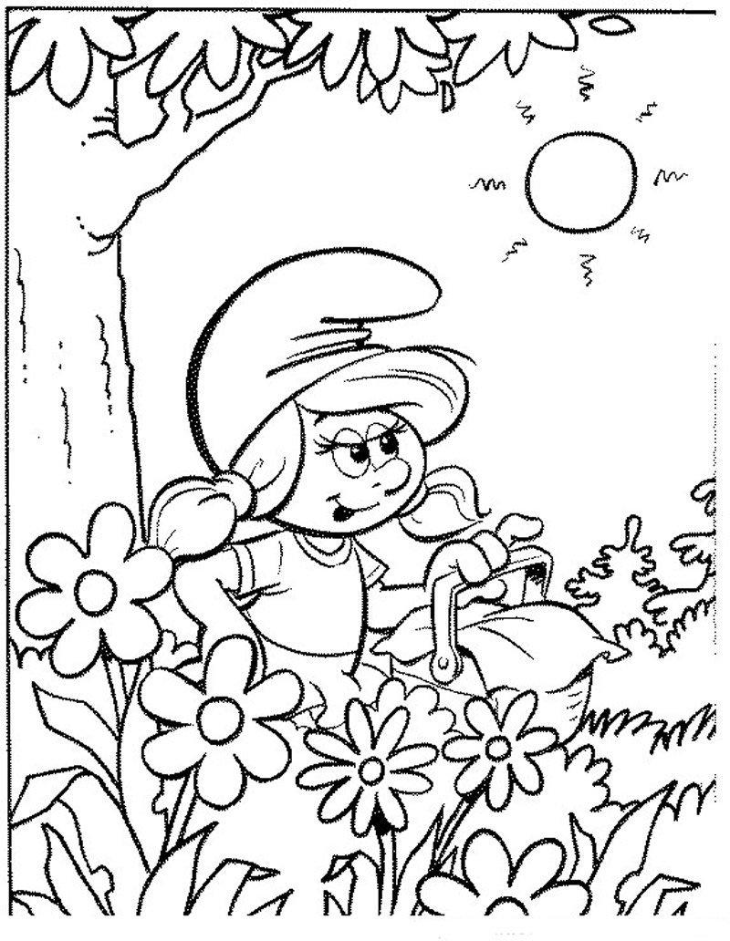 Coloriage Les Schtroumpfs 18