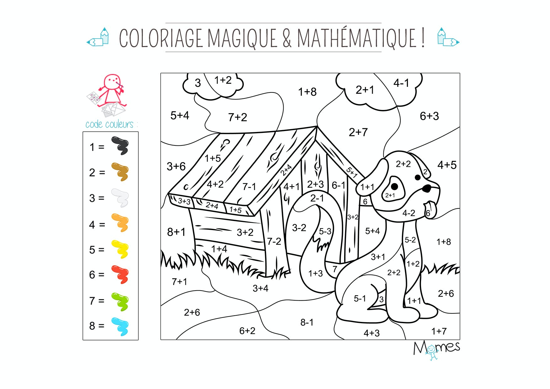 Image Result For Coloriages Magiques