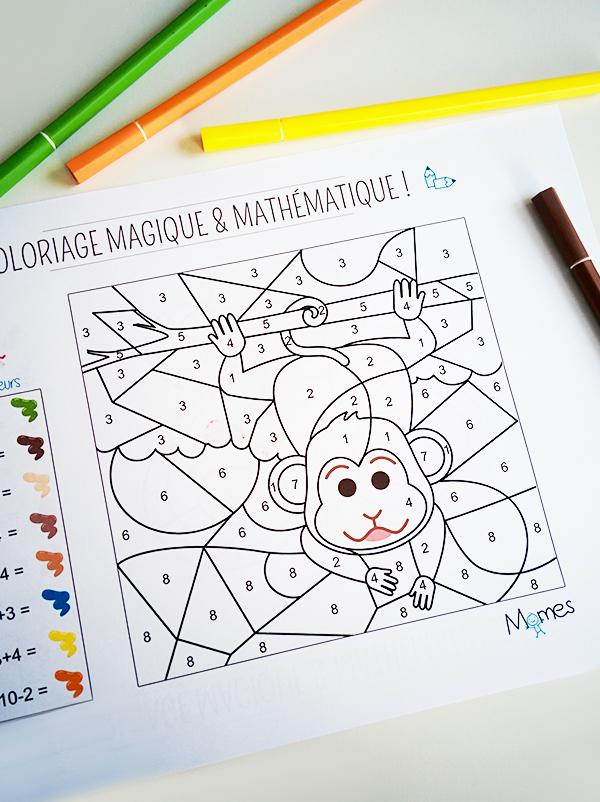 coloriage en mathématique