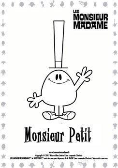 Coloriage Monsieur Petit