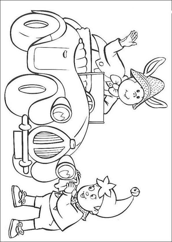 Coloriage oui oui 10 - Le dessin anime oui oui ...