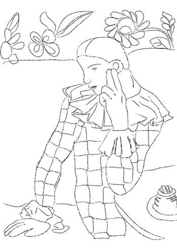 Coloriage Pablo Picasso