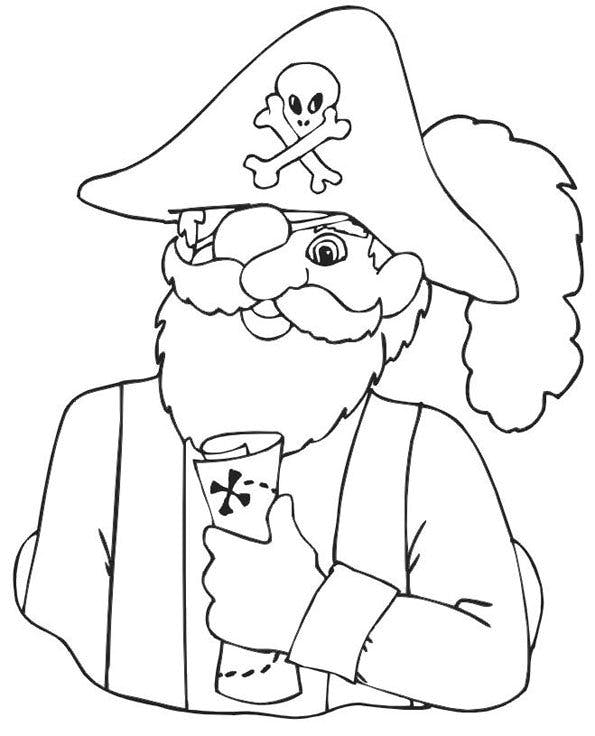 Coloriage pirates 11 - Dessins pirates ...