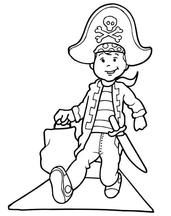Coloriage pirates 12 - Dessins de pirates ...