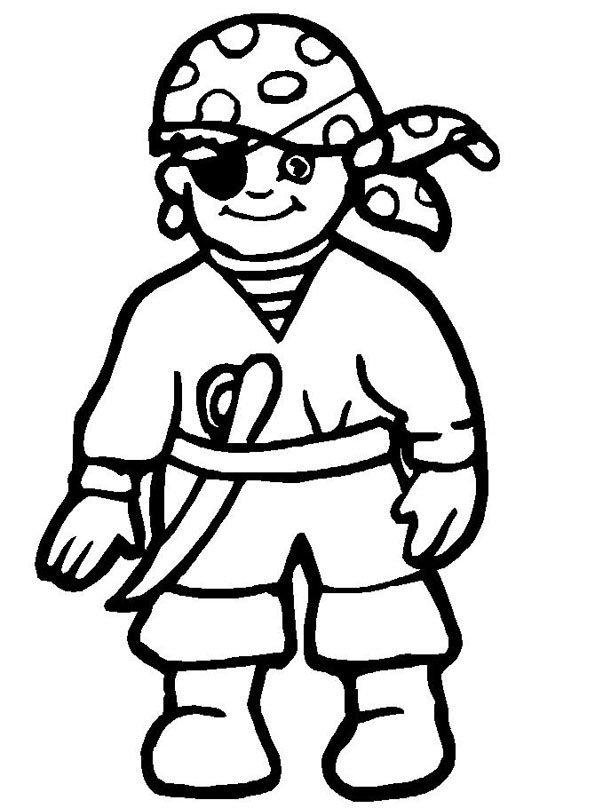 Coloriage pirates 1 - Image de dessin anime gratuit ...