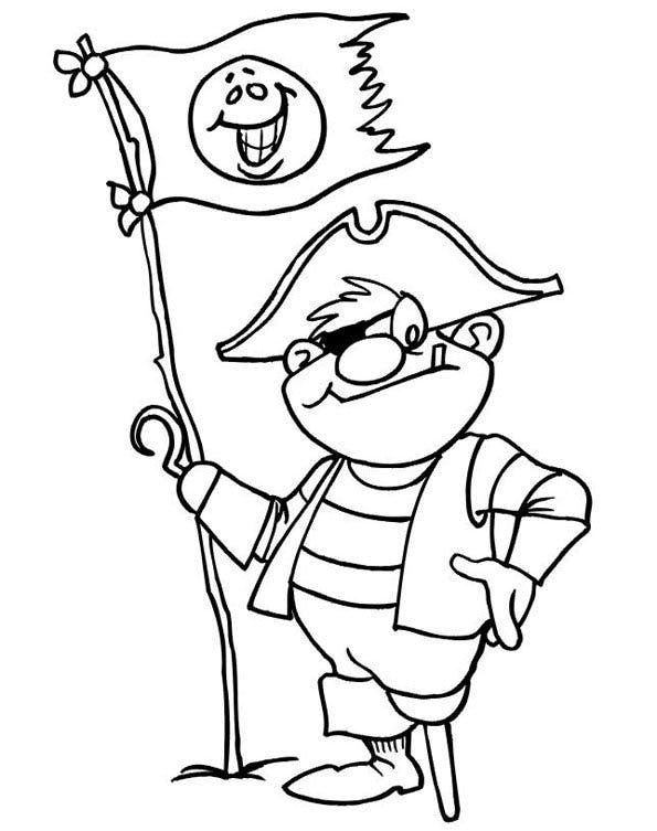 Coloriage pirates 2 - Dessins pirates ...