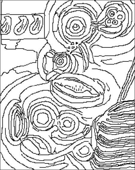 Coloriage robert delaunay 1885 1941 - Coloriage peintre ...