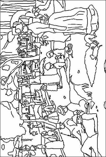 Coloriage Seurat (2)