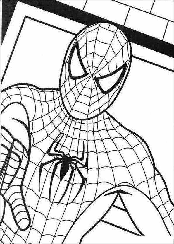 Coloriage Spiderman (3)