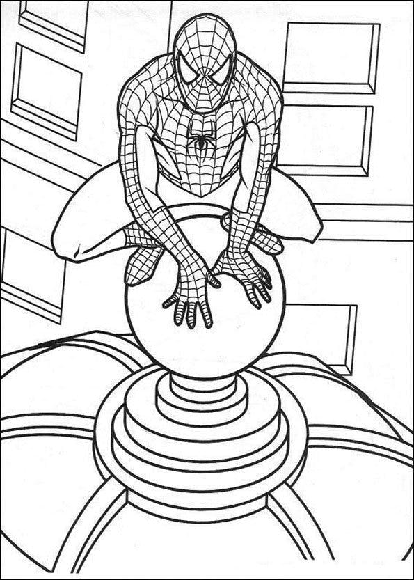 Coloriage Spiderman (4)