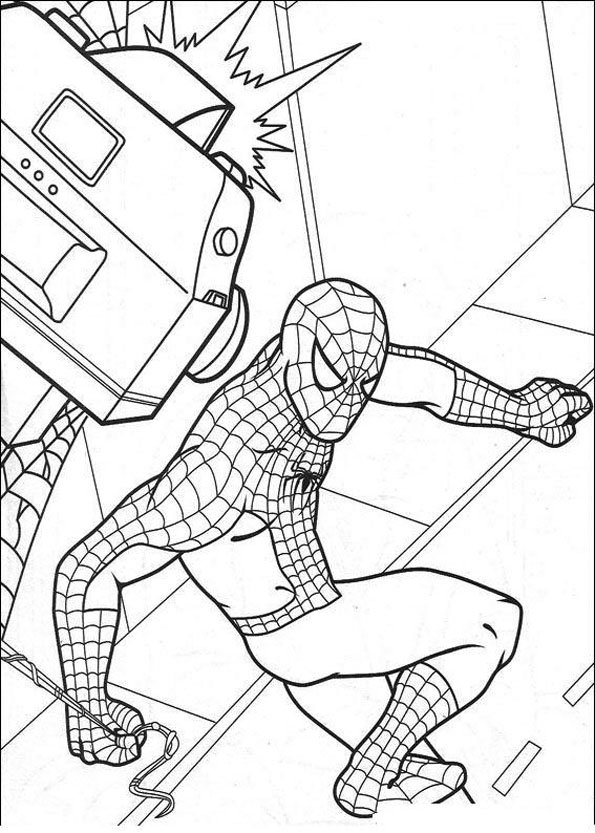 Coloriage Spiderman (5)